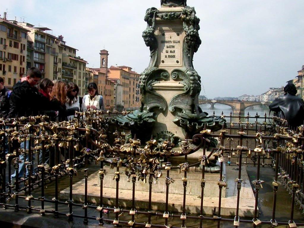 Firenze - Benvenuto Cellini-szobor