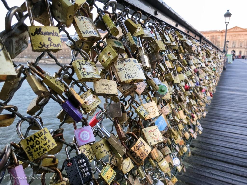 Párizs - Pont des Arts gyalogoshíd