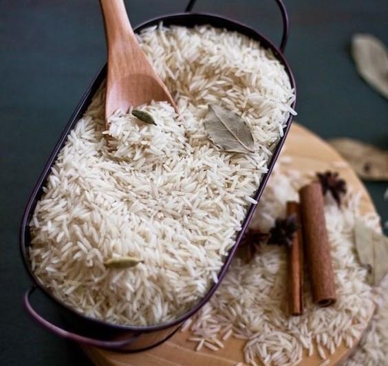 Forrás: Pinterest / basmati rizs - Indiában és Pakisztánban termelik