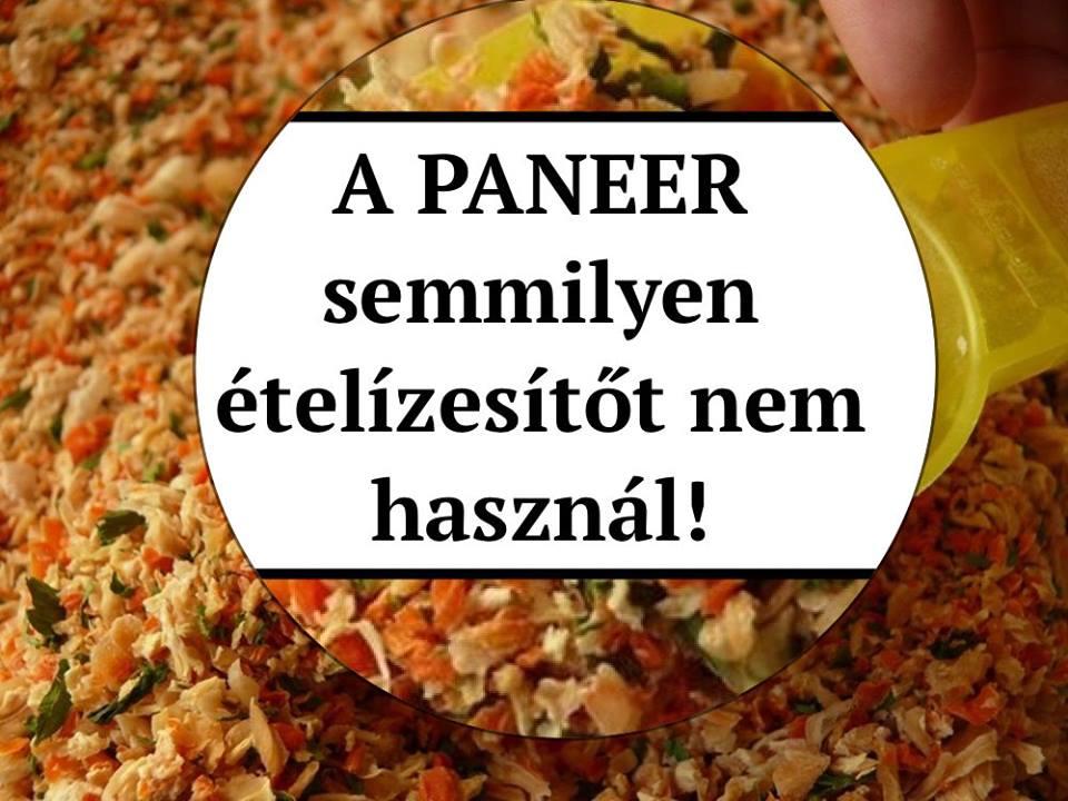Forrás: Paneer / Sem ízesítőt, sem színezéket nem tartalmaznak az ételek!