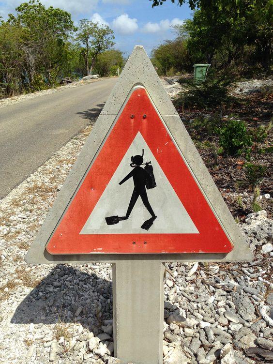 Bonaire - elsőbbségadás kötelező a búvároknak