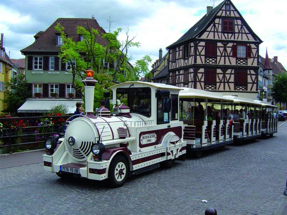 Colmar_városnéző vonat
