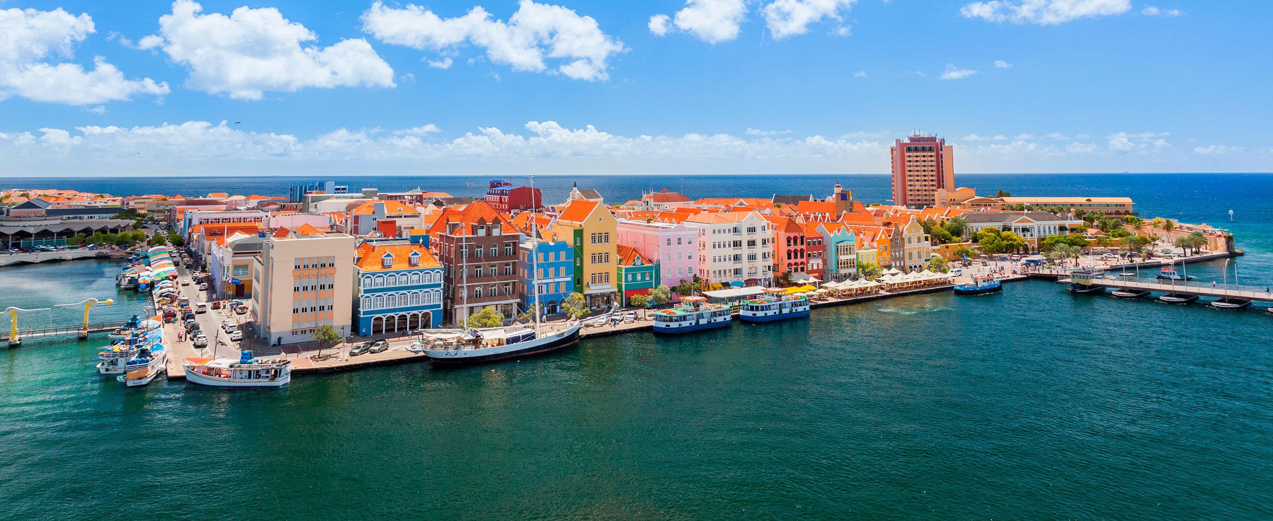 Curaçao panoráma
