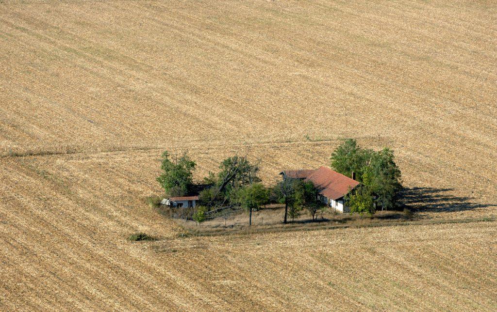 Elhagyott tanya / Forrás: civilhetes.hu / Fotó:   H. Szabó Sandor