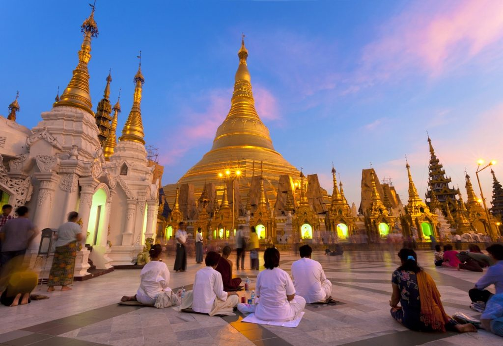 Yangon - Forrás: Lonely Planet